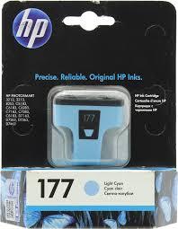 Оригинальный <b>картридж HP C8774HE</b> (№177) (светло-голубой ...