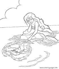 Free Mermaid Coloring Pages Mermaid Coloring Pages For Adults Best