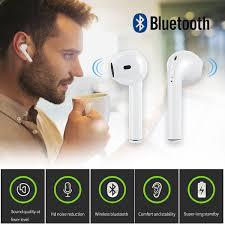 Tai Nghe Bluetooth Cho iPhone Kèm Sạc