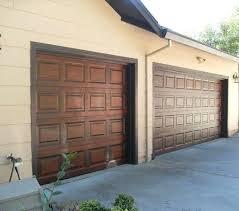 wood look painting painting garage door metal how to paint metal garage doors to look like wood steel wooden