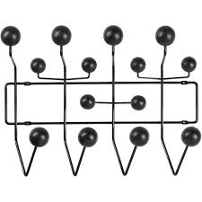 Eames Coat Rack Walnut Eames Hang it All coat rack black ash 31