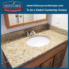 history stone hgj029 caladonia flat standard laminated ornamental factory supply natural granite polished solid surface countertop bathroom vanity top