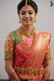 simple south indian bridal makeup off