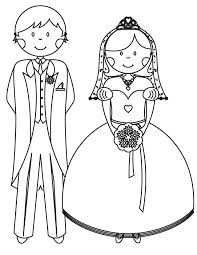 Free Printable Wedding Coloring Pages Wedding Coloring Pages Free