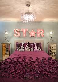 teenage girl bedroom lighting. amazing teenage bedroom lighting ideas with purple bed girl 5
