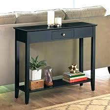 narrow black console table beamtalkco