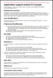42 Application Support Resume Sample Systematic Thathappymess Com