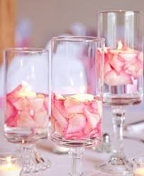 22 eye catching inexpensive diy wedding centerpieces floating flower hurricanes centerpiece idea