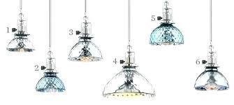 mercury glass light fixtures shade pendant fixture amazing ideas