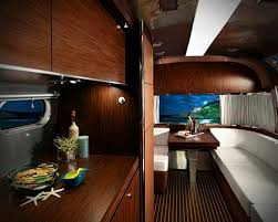 Airstream Interior Design Minimalist Simple Decoration