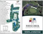 Scorecard - Turtle Creek Golf Club