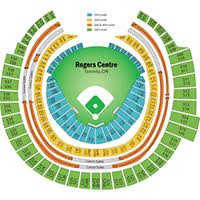 Rogers Skydome Seating Chart Rogers Centre Toronto Blue Jays Seating Chart Rogers