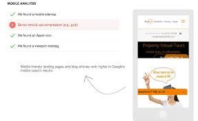 mobile ysis score seo tool