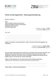 Service Agreement Samples Terms Of Service Contract Template Service Agreement