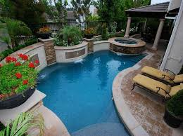 Backyard Pool Designs For Small Yards For well Best Small Inground Pool  Ideas On Pinterest Pics