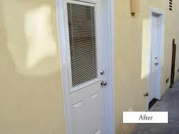 entry door mini blinds. plastpro side entry door. smooth fiberglass model #dr00. flush door dr40 with mini blinds and low-e