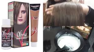 Olivia Hair Colour Review - YouTube