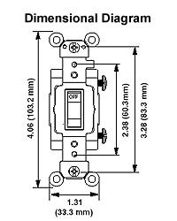 cs220 2w 220 Double Pole Light Switch Diagram dimensional data; wiring diagram 3 Pole Light Switch Wiring Diagram