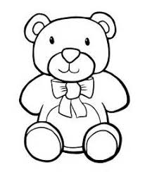 Small Picture Teddy Bear Coloring Pages For Kids teddy bear colouring page
