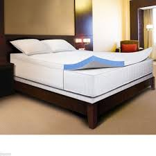 novaform comfortluxe gel memory foam mattress topper. novaform comfortluxe gel memory foam 3 inch mattress topper with cotton cover #novaform novaform comfortluxe gel memory foam mattress topper a