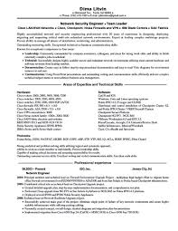 Network Engineer Resume Resumes Format For Fresher Download With One