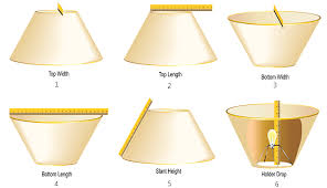 How To Measure A Lamp Shade Delectable MEASURING GUIDE CCSI