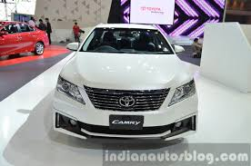 Toyota Camry Extremo Edition front at the 2014 Thailand Motor Expo ...