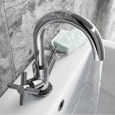 Modern Bathroom Taps Kitchen Desaign Glass Faucets Wall Mounted Basin Taps Faucet For