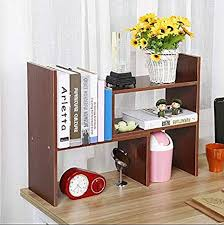 Small desk with bookshelf Simple Amazoncom Raumeyun Small Desk Bookshelf Office Desk Shelf Wooden Display Shelf Small Bookcase That Can Be Adjusted Freely Office Products Amazoncom Amazoncom Raumeyun Small Desk Bookshelf Office Desk Shelf