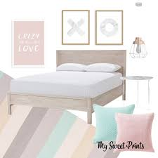 Pastel Bedroom Marble And Pastel Bedroom Design My Sweet Prints