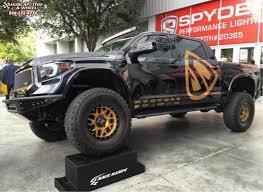 2014 Toyota Tundra XD Series XD127 Bully Wheels Satin Gold and ...