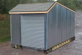 metal shed garages