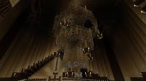 minecraft how to make a modern chandelier you