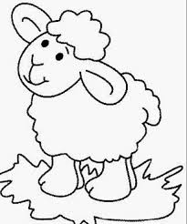 Small Picture sheep coloring pages for preschool coloring page for kids