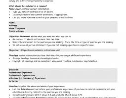 Resume Career Objectives Examples Social And Emotional Development