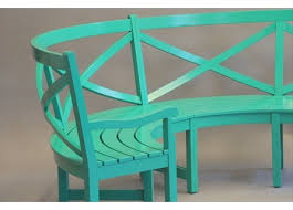 outdoor furniture colors. Custom Color Curved X Bench Outdoor Furniture Colors U