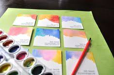 tie dye business cards cool diy tie dyed business cards to make from brit co
