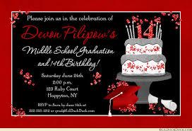 Red And Black Party Invitations Graduation And Birthday Party Invitations Rome Fontanacountryinn Com