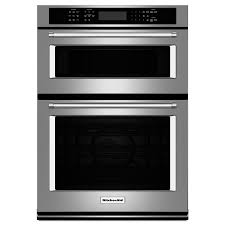 kitchenaid self cleaning convection microwave wall oven combo stainless steel common