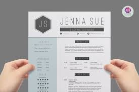 two page cv template resume templates on thehungryjpeg com 1222