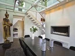 contemporary dining room light. Spot Light For Dining Room In Contemporary With Monochromatic Tones And Dark