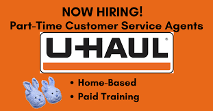 U Haul Customer Service New U Haul Now Hiring Part Time Customer Service Agents Work