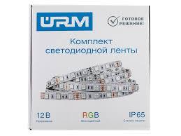 <b>Светодиодная лента URM</b> SMD 5050 30 LED 12V 7.2W 420lm ...