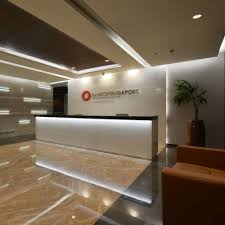 Designer Contracts Head Office Spacewell Interiors Infrastructure Analysis Dubai