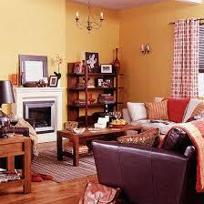 Burnt Orange And Brown Living Room Concept Interesting Decorating Design