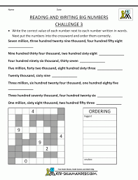 4th Grade Number Patterns Common Core Math Worksheets Fourth ...