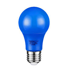 Blue Led Light Fixture Torchstar Blue A19 Led Light Bulb With E26 Base 7w Colored Led Bulbs For Outdoor Light Fixture Floor Lamp Living Room Decoration 30 000hrs