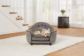 ultra plush headboard pet sofa enchanted home pet