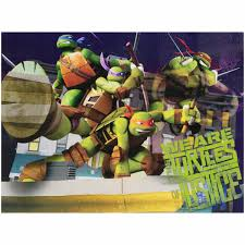 Tmnt 3d Light Nickelodeon Teenage Mutant Ninja Turtles Light Up Canvas Led