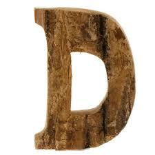 95mm wooden alphabet letters